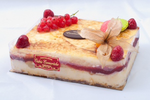 Millefeuille Poire Framboise
